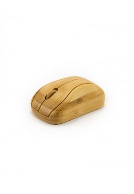 Brezžična računalniška miška iz bambusa - Mišek